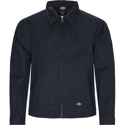 Und Eisenhower Jacket Regular | Und Eisenhower Jacket | Blå